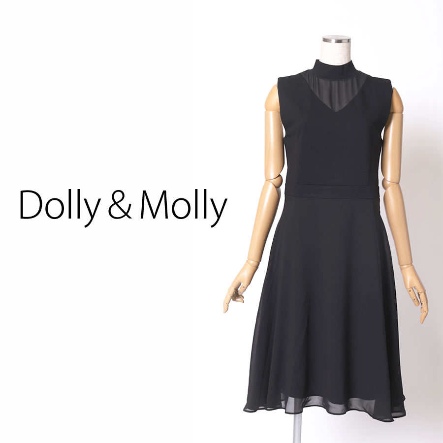 Dolly&Molly ポンチレイヤードワンピース
